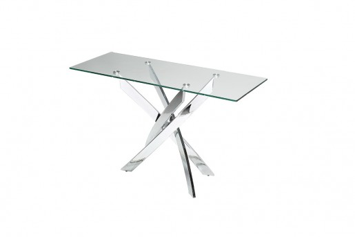 VIG Pyrite Glass Console Table Available Online in Dallas Fort Worth Texas