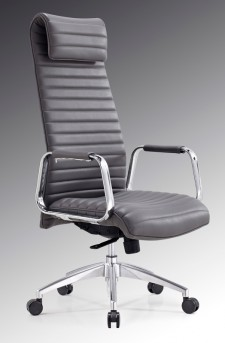 VIG Mayer Grey High-Back Office Chair Available Online in Dallas Fort Worth Texas