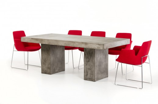 VIG Saber Concrete Dining Table Dallas TX   Dining Room Dining ...