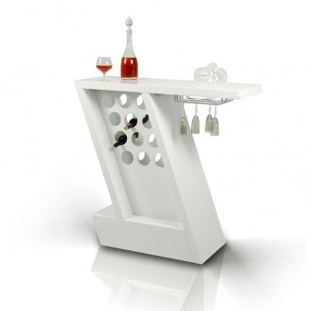 VIG Zin White Mini-bar Unit Available Online in Dallas Fort Worth Texas