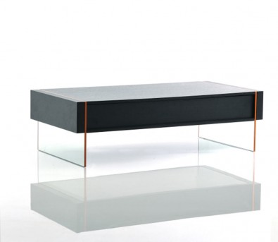 VIG Vision Black Oak Floating Coffee Table Available Online In Dallas Fort  Worth Texas