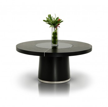 VIG Modrest Houston Black Oak Dining Table Available Online in Dallas Fort Worth Texas