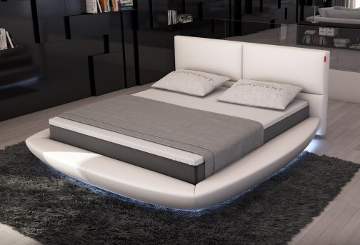 VIG Sferico Eco-leather Bed With Led Light Available Online in Dallas Fort Worth Texas