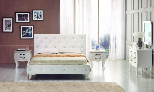 VIG Monte Carlo Twin Bed With Crystals Available Online in Dallas Fort Worth Texas