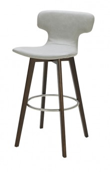 VIG Zach Grey Eco-leather Bar Stool Available Online in Dallas Fort Worth Texas