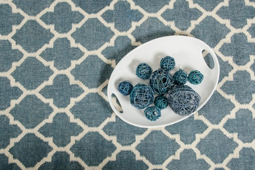 VIG Linie Design Adelyn Turquoise Wool Rug Available Online in Dallas Fort Worth Texas