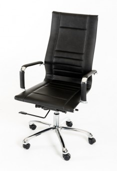 VIG Harrison Black Leatherette Office Chair Available Online in Dallas Fort Worth Texas