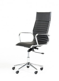 vig madison black leatherette office chair dallas tx office chair