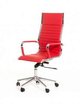 VIG Madison Red Leatherette Office Chair Available Online in Dallas Fort Worth Texas