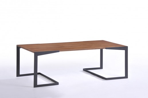VIG Garrison Walnut Coffee Table Available Online in Dallas Fort Worth Texas