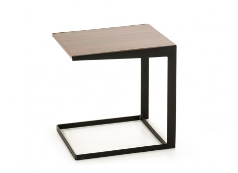 VIG Garrison Walnut End Table Available Online in Dallas Fort Worth Texas