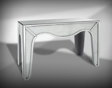 VIG Stardust Mirrored Console Table Available Online in Dallas Fort Worth Texas