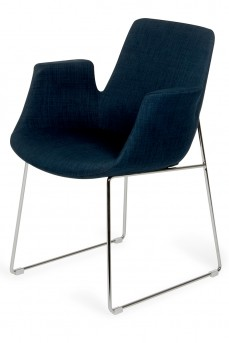 VIG Altair Blue Fabric Dining Chair Available Online in Dallas Fort Worth Texas