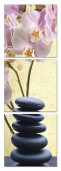 VIG Yoga Stones 3-Panel Photo On Canvas Available Online in Dallas Fort Worth Texas