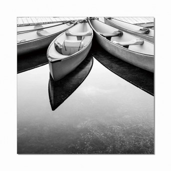 VIG Parked Boats Photo On Canvas Available Online in Dallas Fort Worth Texas