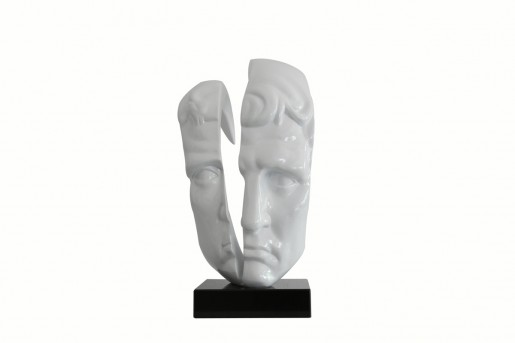 VIG Face White Sculpture Available Online in Dallas Fort Worth Texas