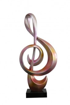 VIG Clef Metallic Sculpture Available Online in Dallas Fort Worth Texas