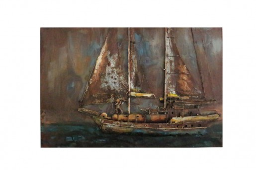 VIG Pinnace Boat Painting Available Online in Dallas Fort Worth Texas
