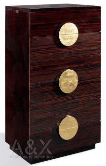 VIG Tuscany Ebony Chest Available Online in Dallas Fort Worth Texas