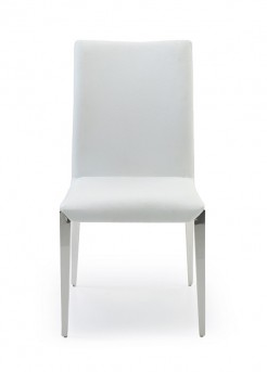 VIG Taryn White Dining Chair Available Online in Dallas Fort Worth Texas