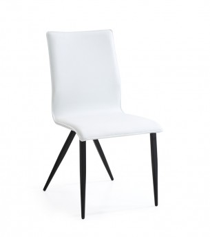 VIG Xyla White & Black Dining Chair Available Online in Dallas Fort Worth Texas
