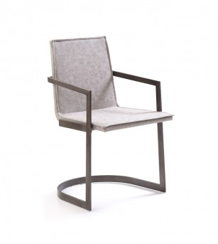 VIG Jago White Wash Grey Dining Chair Available Online in Dallas Fort Worth Texas