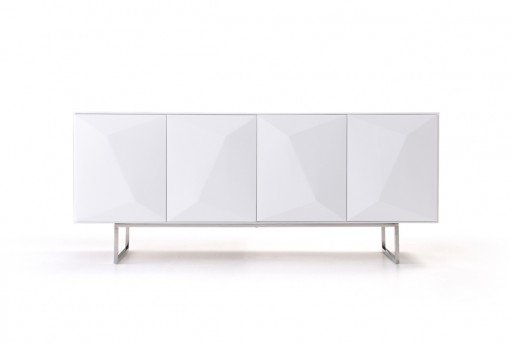VIG Vanguard White Buffet Available Online in Dallas Fort Worth Texas