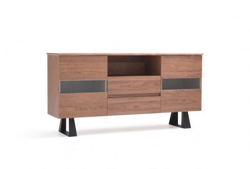 VIG Corey Walnut Buffet Available Online in Dallas Fort Worth Texas