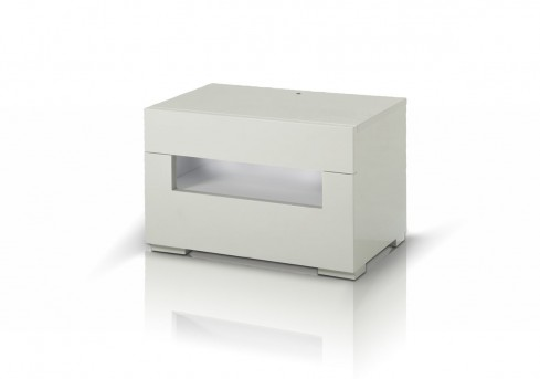 Vig Ceres Led White Lacquer Nightstand Available Online In Dallas Fort Worth Texas