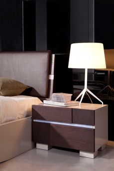 VIG Anzio Brown Oak Nightstand Available Online in Dallas Fort Worth Texas