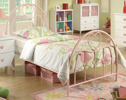 Coaster Juliette Twin Metal Bed Available Online in Dallas Fort Worth Texas