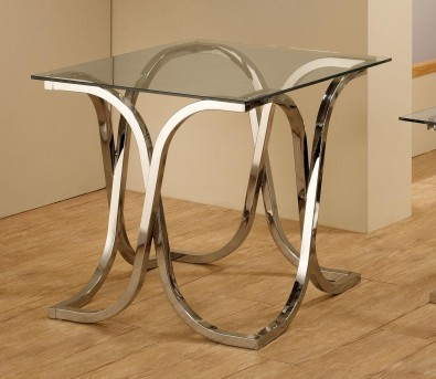 The X-Curve End Table Available Online in Dallas Fort Worth Texas