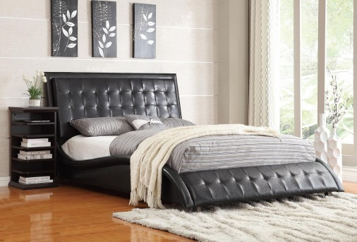 Tully Black Queen Bed Available Online in Dallas Fort Worth Texas