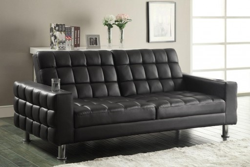 Coaster Bubbles Dark Brown Sofa Bed Available Online in Dallas Fort Worth Texas