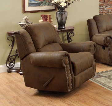 Coaster Rawlinson Swivel Recliner Available Online in Dallas Fort Worth Texas