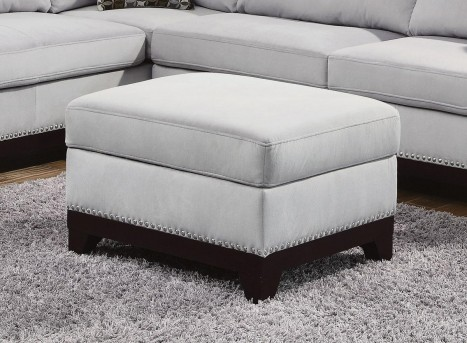 Coaster Mason Grey 36x25 Storage Ottoman Available Online in Dallas Fort Worth Texas