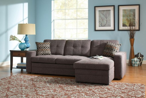 Coaster Gus Right Chaise Sleeper Sofa Available Online in Dallas Fort Worth Texas