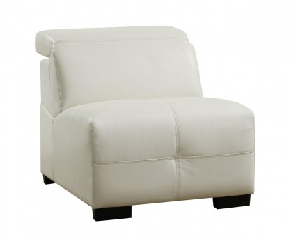 Coaster Darby White Armless Chair Available Online in Dallas Fort Worth Texas