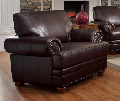 Colton Brown Chair Available Online in Dallas Fort Worth Texas