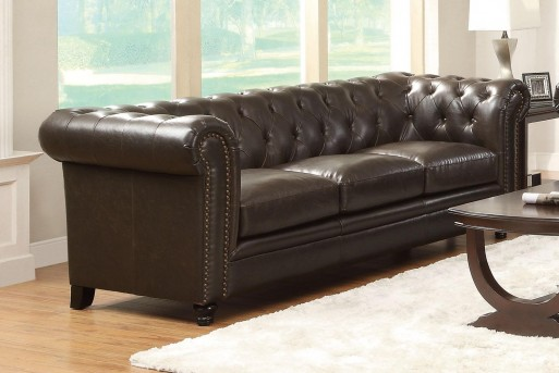 Coaster Roy Tufted Sofa Available Online in Dallas Fort Worth Texas