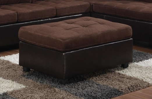 Coaster Mallory Chocolate Ottoman Available Online in Dallas Fort Worth Texas