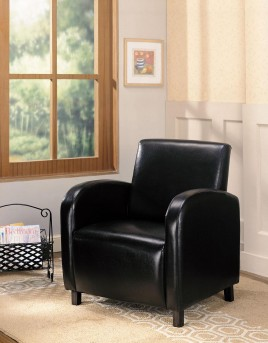 Coaster Braxton Black Club Chair Available Online in Dallas Fort Worth Texas