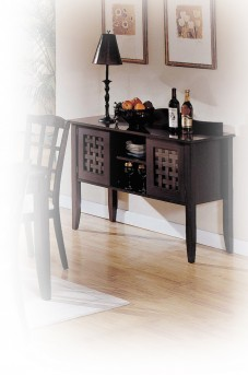 Yuan Tai Simplicity Espresso Server & Sideboard Available Online in Dallas Fort Worth Texas