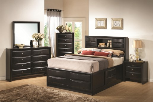 Coaster Briana King 5pc Storage Bedroom Set Available Online in Dallas Fort Worth Texas
