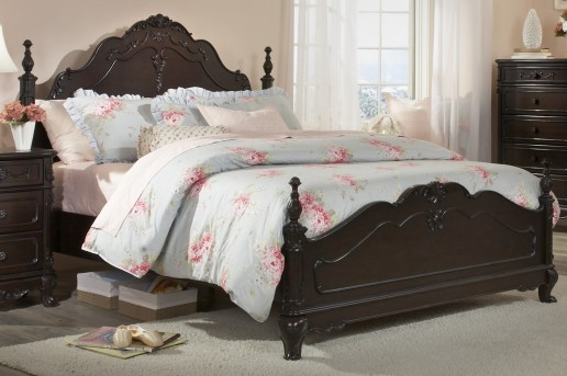 Homelegance Cinderella Cherry Twin Bed Available Online in Dallas Fort Worth Texas