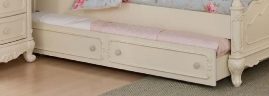 Homelegance Cinderella White Twin Trundle Available Online in Dallas Fort Worth Texas