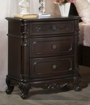 Homelegance Cinderella Cherry Night Stand Available Online in Dallas Fort Worth Texas