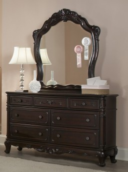 Cinderella Cherry Dresser Available Online in Dallas Fort Worth Texas