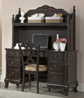 Cinderella Cherry Desk Available Online in Dallas Fort Worth Texas