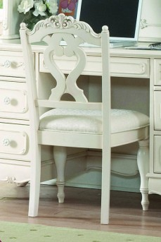 Homelegance Cinderella Kids White Chair Available Online in Dallas Fort Worth Texas